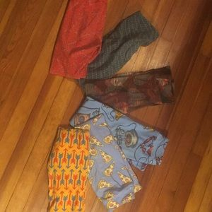 6 pair Large X large girls Lularoe leggins
